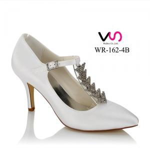 WR-162-4B Pointy shoe toe bridal shoes