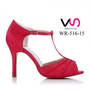 WR-516-15 9cm Fusia Color Party shoes Evening Shoes