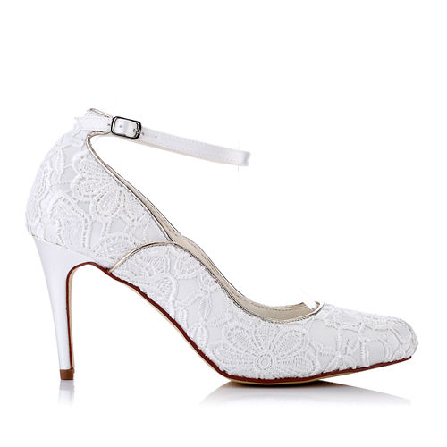 WR-1679-4 Sunflower Lace 9cm Heel Height Pump Bridal Shoes