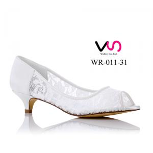 WR-011-31 Lace bridal shoes