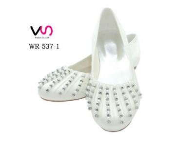 WR-537-1 Flat Ballet Shoes Bridal Shoes