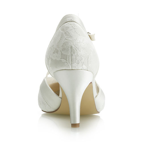 7.8cm Elegant Lace Bridal Shoes