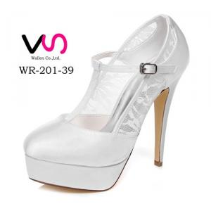 13cm Super Sexy Heel Women Pump Lace Material Wedding Bridal Shoes