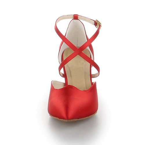 Strappy soft flexible dance shoes for girl