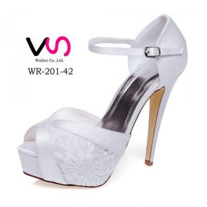 13cm Lace Bridal Shoes With Super High Heel