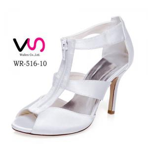 WR-516-10 White color Sandal Wedding Bridal Shoes