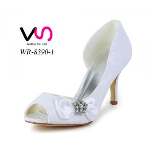 wholesale ladies wedding shoe sexy lace style fish mouth bridal women shoes