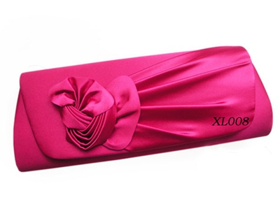 Dyeable Satin clutch bag handbag for party
