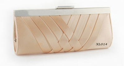 metal clip clutch bag handbag for party dress