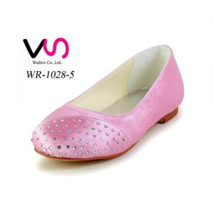 Pink color communion shoe