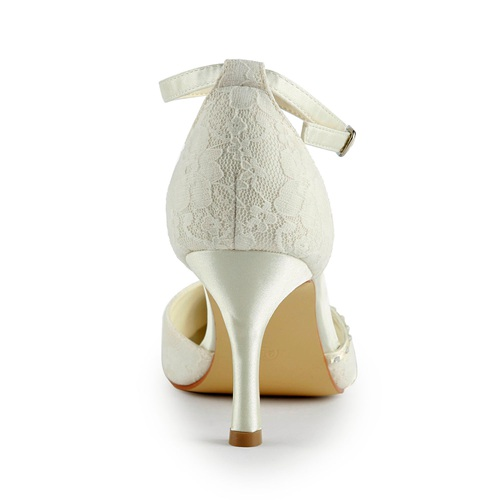 8cm pointed shoe toe bridal shoes
