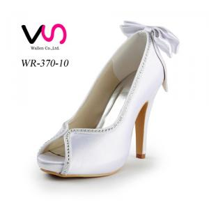 Fashion heels wholesale shoes low heeled bridal shoes handmade crystal shoes
